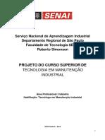 PLANO de CURSO - Manut Industrial