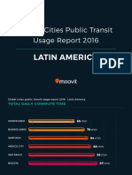Global Cities Public Transit Usage Report 2016