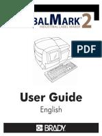 Manual for BRADY GlobalMark 2english