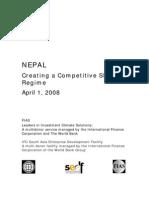 Nepal_CreatingCompetitiveSEZRegime