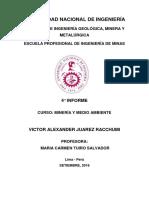 4° informe de minería y medio ambiente