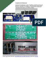 APEX B500 500Watts Amplificador de Potencia BJT