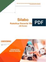 Robótica Docente I Wedo - Robótica Docente-Sílabo 2017-I 02 -