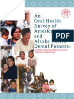 Oral Health 1999 IHS Survey
