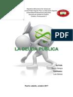 La Deuda Publica Venezolana