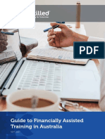 Guide to Financial Assistance for Training in Australia Final