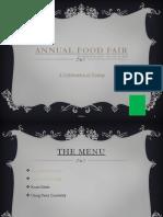 Annual Food Fair 4A 17