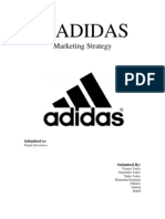 Adidas- Marketing Mix