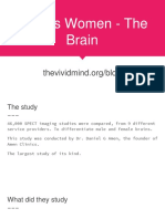Men vs Women - The Brain