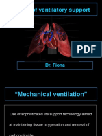 Basics of Ventilatory Support