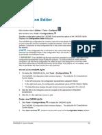 S E C T I O N 3 - Configuration Editor