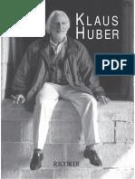 Klaus Huber Broschre