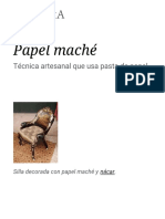 Papel Maché - Wikipedia, La Enciclopedia Libre