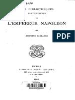 bibliothèque itinérante napoléon
