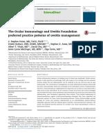 Journal Reading Survey Ophtalmology