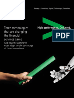 Accenture Three Technologies Changing Financial Services Game