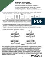 Manual de instrucciones acoples de cadena DODGE