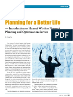 Huawei-Solution Planning for a Better Life