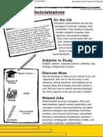 Education Administrators and Teachers