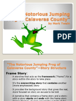 The Notorious Jumping Frog of Calaveras County Intro Powerpoint