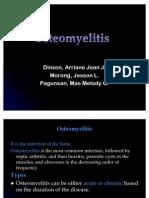 osteomyelitis-DPM