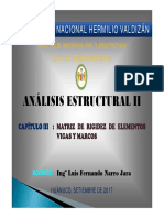 Clase III - Analisis Estructural II