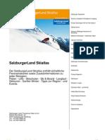 Salzburgerland Skiatlas