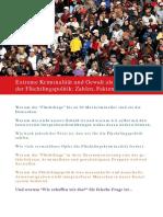 Laufer, Ines - Flüchtlingskriminalität - Zahlen, Fakten, Beweise (2017, 53 S., Text)