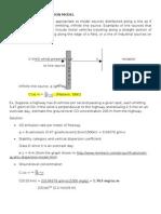 Air Pollution - Line-Source Dispersion (Scribd)
