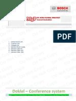Spesifikasi & Brosur Conference System MGP