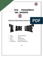 carpeta Pedagogica Docente  2017ok.docx