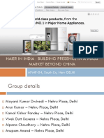 haier in india building presence in a mass market beyond china pdf