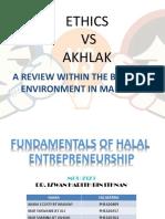 Ethics vs Akhlak