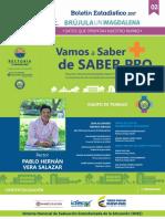 Brújula Unimagdalena - Boletin Estadístico No. 2 - Vamos a Saber + de SABER PRO