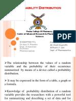 Probability DistributionAPG