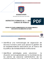 Instructivo Formato No. 1 Medicion Cargas Trabajo