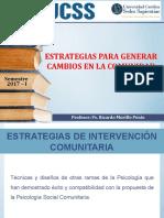 8 Estrategias de Intervención Comunitaria