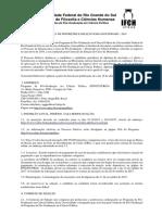Edital Doutorado 2018 - UFRGS