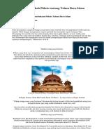 Contoh Naskah Pidato Tentang Tahun Baru Islam