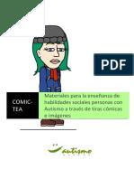 COMICTEAbitstrips Autismo Burgos