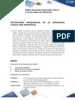 C. Solucionario Paso 3 Uso Leyes de Inferencia