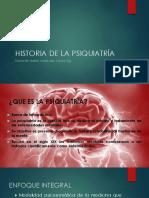 1.- Historia de La Psiquiatria