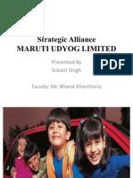 Strategic Alliance at MARUTI