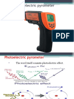 Photoelectric Pyrometer