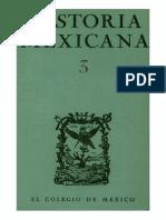 Historia Mexicana 003 Volumen 1 Numero 3.pdf