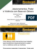 RESTORED Brasil Portuguese