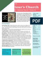 st saviours newsletter - 15 oct 2017