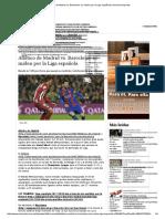 Atlético de Madrid Vs