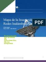 Mapa de la inseguridad de redes inalámbricas en Lima, Perú