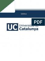 SGA13CV - Programa Internacional -Diplo...e Alimentos - Universidad de Catalunya